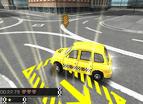 英國出租車停靠