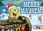 海綿寶寶聖誕雪戰