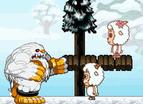 喜羊羊兄妹雪球大戰雙人版