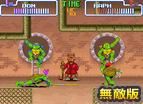 忍者龜4雙人無敵版